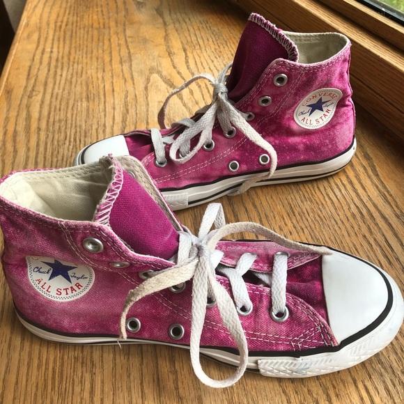Converse Shoes   Custom Size2 Plum